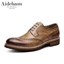 Aidebaou Brooker Brogues Dress shoes British leather shoes ...