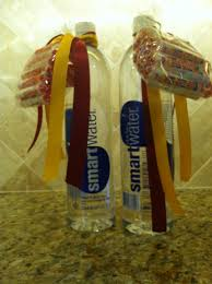 going to college gift smart water and smarties tied school going to college gift smart water and smarties tied school color ribbons great way to start college smart or finals gift