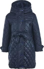 <b>Пальто для</b> девочки. 218BBGC4504, цвет: синий - купить модную ...