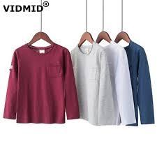 2019 <b>VIDMID Kids Boys</b> Spring T Shirts <b>Long Sleeve</b> Cotton ...