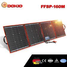 <b>Dokio</b> Brand 160W <b>18 Volt</b> Solar Panel China 160 Watt Solar Panel ...