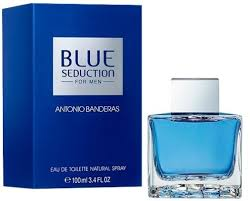<b>Antonio Banderas Blue Seduction</b> EdT 100ml in duty-free at airport ...