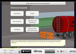 Food Hygiene for Supervisors – Level 3 online training ... Level 3 Food Safety and Hygiene for Supervisors screen shot