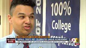 every senior at depaul cristo rey high school accepted to college every senior at depaul cristo rey high school accepted to college