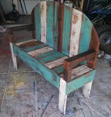 diy rustic pallet bench build pallet furniture plans
