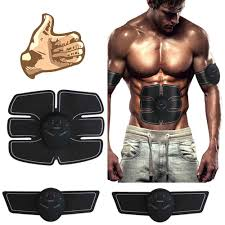 EMS <b>Vibration</b> Fitness <b>Abdominal Muscle Trainer</b> Sport Press ...