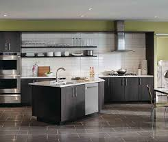 grey kitchen cabinets dark gray kitchen cabinets by kemper cabinetry