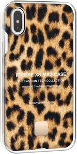 <b>Клип</b>-<b>кейс Happy Plugs для</b> Apple iPhone XS Max Leopard with an ...