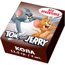 Жевательные <b>конфеты</b> «<b>Tom and Jerry</b>» со вкусом Кола 11,5гр