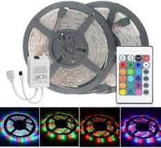 <b>2pcs HML 5m</b> 24W 300 SMD 2835 RGB LED Strip Light - RGB ...
