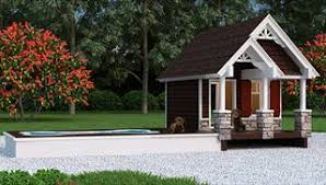 Tiny House Plans  amp  Home Designs   The House Designersimage of Puppy Paradise House Plan