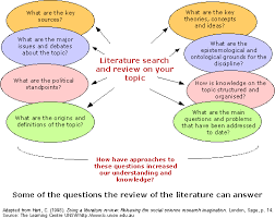 academic literature review example jpg Pinterest