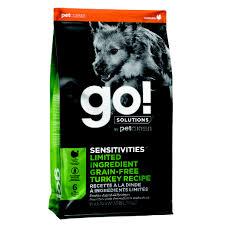 <b>Go</b>!,<b>Adult</b> - <b>Sensitivities</b>, GF LID - Turkey - 5.44 kg - Ren's Pets