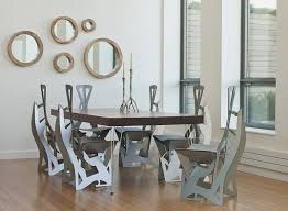 dining area use of unusual folding chair in complicated construction chair unusual dining chairs