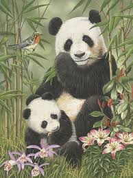 William Vanderdasson Panda <b>Paradise</b> в 2020 г. | Рисунки панды ...