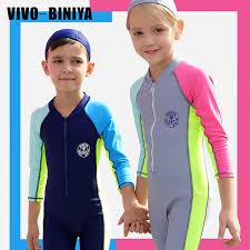 <b>Kids One Piece Swimsuit</b> Rash Guards Full Body Stinger Jumpsuit ...