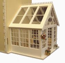 conservatory cheap doll houses with furniture