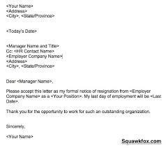 don  t be a jerk how to write a classy resignation letter  squawkfox resignation letter example