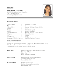 sample resume template com sample resume template to inspire you how to create a good resume 17