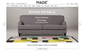best furniture websites design. madecom best furniture websites design