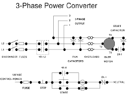 3phconv a self starting schematic is shown below