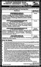 sbkwu jobs 2014 for teaching faculty sardar bahadur khan sbkwu jobs 2014 for teaching faculty sardar bahadur khan women s university