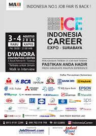 career expo surabaya agustus jadwal event info career expo surabaya agustus 2016