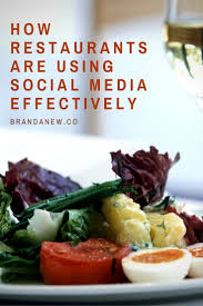 socialmedia marketing learn how restaurants are using social media effectively and implement these cool amazing restaurant media