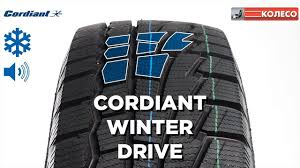 <b>CORDIANT WINTER DRIVE</b>: обзор зимних шин | КОЛЕСО.ру ...
