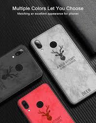 New Fashion <b>Case For</b> Xiaomi Redmi Note 7 <b>Cover Soft</b> Fabric TPU ...