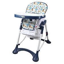 Pituso Sol - <b>стульчик для кормления</b> Веселый Город Синие-белый