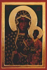 Znalezione obrazy dla zapytania obraz matki boskiej częstochowskiej