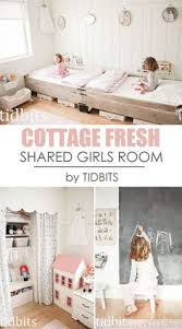 little girls shared bedroom small space makeover bedroomlicious shabby chic bedrooms country cottage bedroom