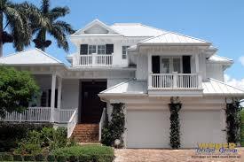 Beach House Plan   Caxambus House Plan   Weber Design GroupBeach House Plan  middot  Print Elevation   View Larger Image