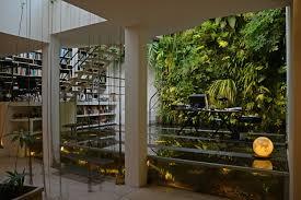 patrick blanc interior vertical garden aquarium office