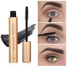 SACE LADY 5D Silk Fiber <b>Mascara Waterproof Smudge</b>-<b>Proof</b> ...