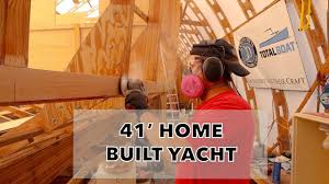 <b>Wooden boat</b> backyard boat building with rail and stile woodworking ...