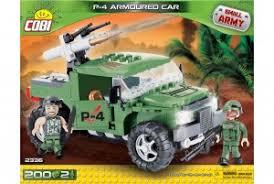 """Пластиковый <b>конструктор COBI</b> """"<b>Военный джип</b> P-4 Armoured Car"""""""