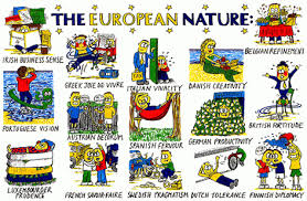 Image result for European Nature humour stereotypes