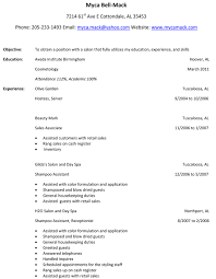 best hair stylist resume example recentresumes com sample hair stylist resume example objective experience