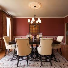 For A Dining Room How To Create A Sensational Dining Room With Red Panache