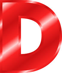 Image result for D letter