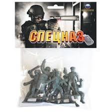 Игрушка <b>Солдатики биплант</b> 12021 <b>Российский</b> спецназ ()69375
