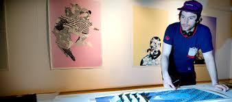w150 fine art ba undergraduate newcastle university a student working in the studios