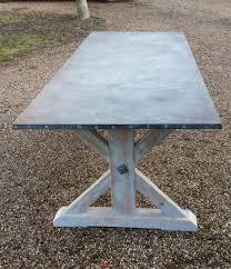 images zinc table top: zinc top table zinc top table x zinc top table