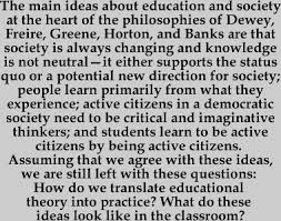 education for social change  from theory to practicethe responsibility for organizing experiences and struggles for social change belongs to the entire community  as groups exercise this responsibility