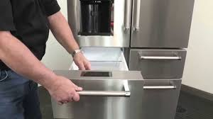 Kitchen Aid Appliances Reviews How To Removing The Pantry Doors On Your Five Door Kitchenaid