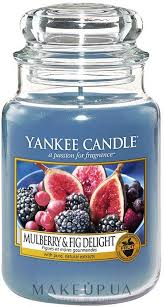 Yankee Candle <b>Mulberry</b> and Fig Delight - <b>Ароматическая свеча</b> ...