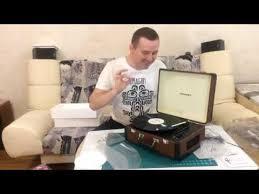 <b>Виниловый проигрыватель Crosley</b> Portfolio - YouTube