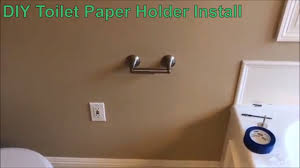 How To Install a Delta <b>Toilet Paper Holder</b> in Drywall - DIY - YouTube